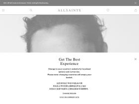 AllSaints cashback