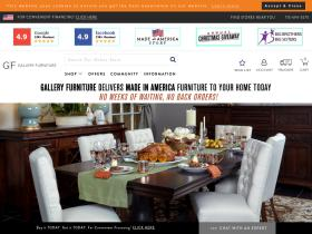 Gallery Furniture coupons