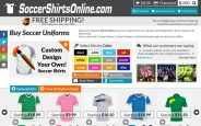 Soccer Shirts Online coupon