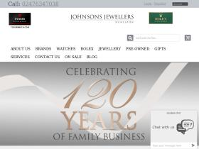 Johnsons Jewellers discount codes