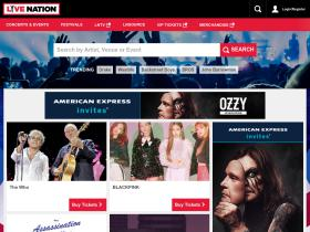 Live Nation cashback