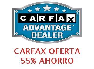 Carfax códigos descuento