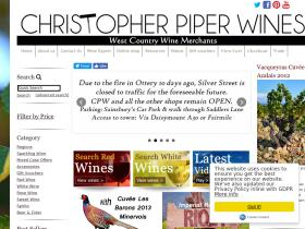 Christopher Piper Wines coupon codes