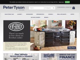 Peter Tyson Appliances discount codes