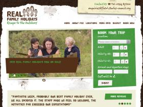 Real Family Holidays cashback