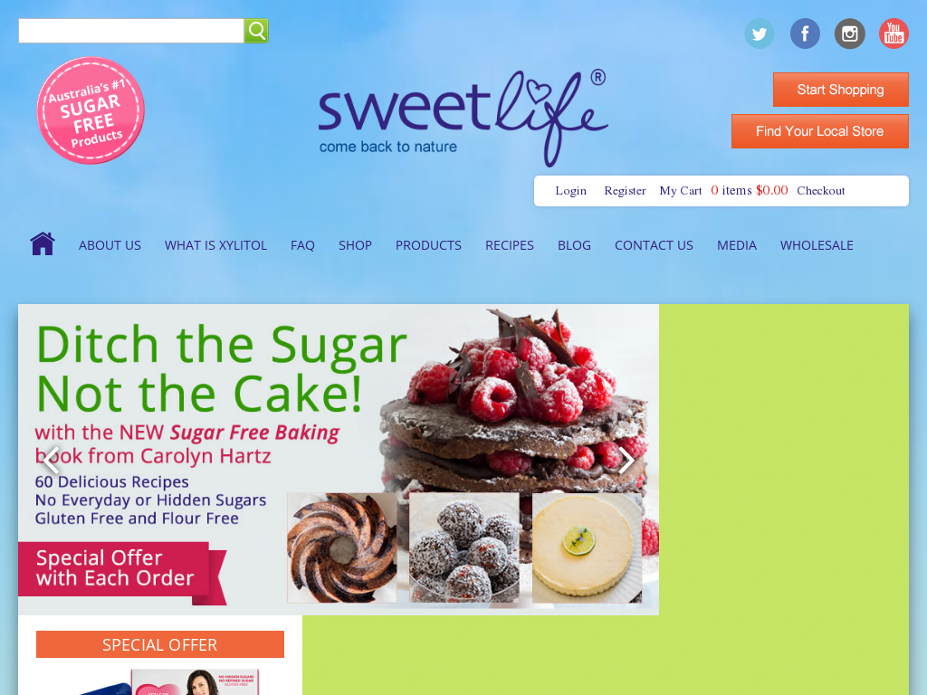 SweetLife promo codes