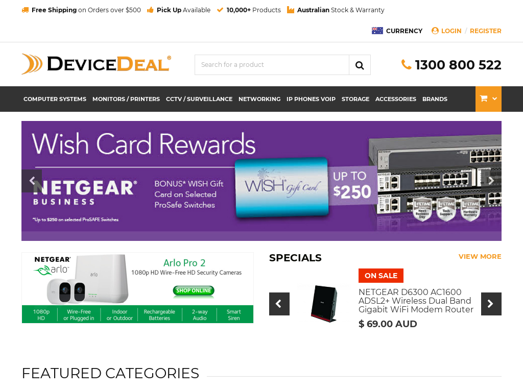 Device Deal cashback