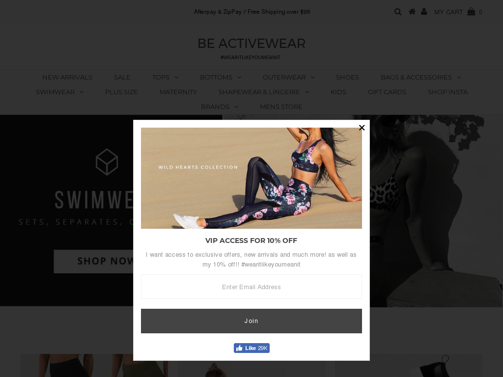 Be Activewear Discount code
